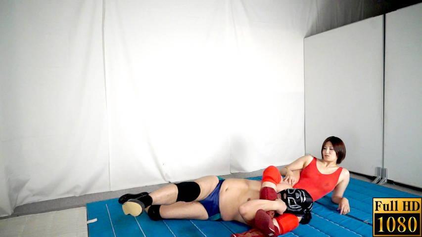 【投稿】【HD】男女室内格闘そのままSEX6 サンプル画像06