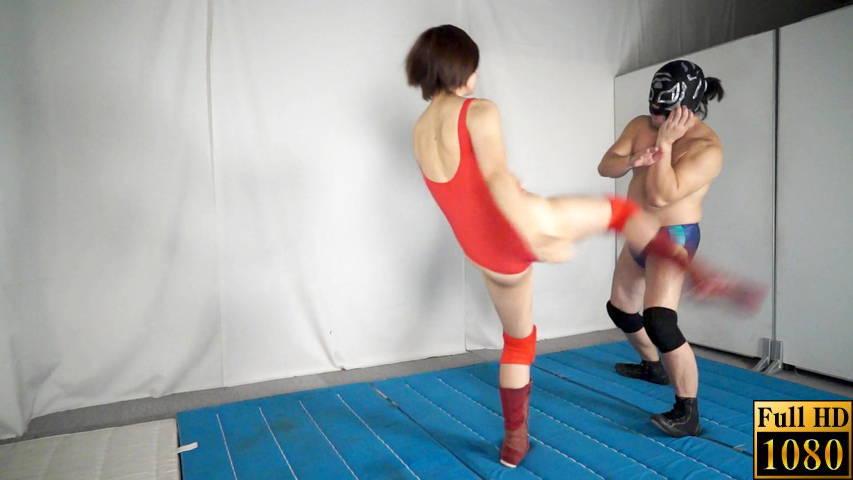 【投稿】【HD】男女室内格闘そのままSEX6 サンプル画像07
