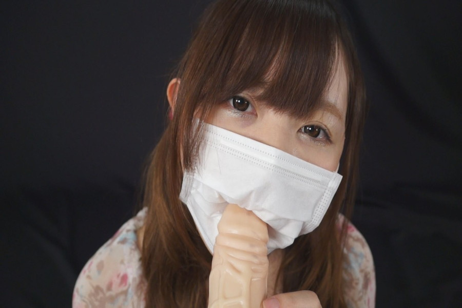 マスク姿のゆうりとみれいをみて! サンプル画像01