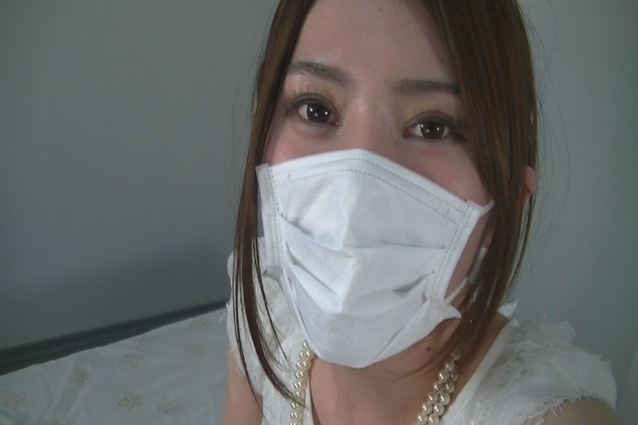 マスク姿のゆうりとみれいをみて! サンプル画像04