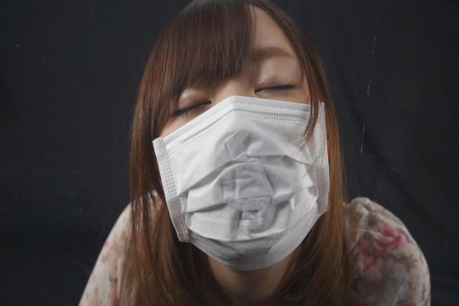 マスク姿のゆうりとみれいをみて! サンプル画像07