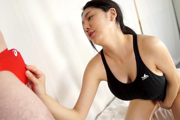 【本日限定価格】【HD】競泳水着男女股間濡れ濡れしごき10 サンプル画像06