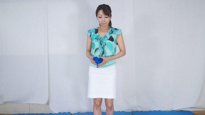 【HD】熟女ハイドロ競パンしごき7 サンプル画像09