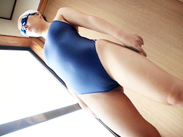【新特別価格】競泳水着キャップとゴーグルをしたままハメ撮り6 サンプル画像02