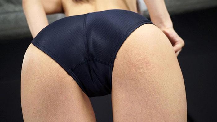 【HD】セクシー過ぎる競泳水着の女 青葉優香 サンプル画像02