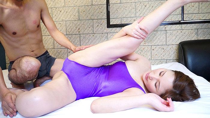 抱擁 群馬県のミス・レオタード 恋さんのしなやかな身体 サンプル画像09