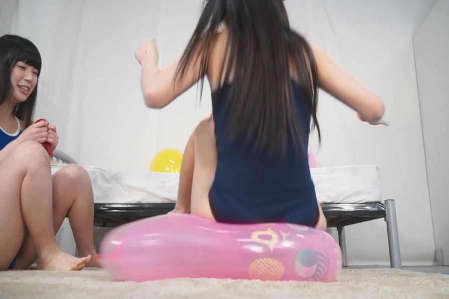 【HD】ニャンニャン娘の風船プレイ絶頂祭 サンプル画像06