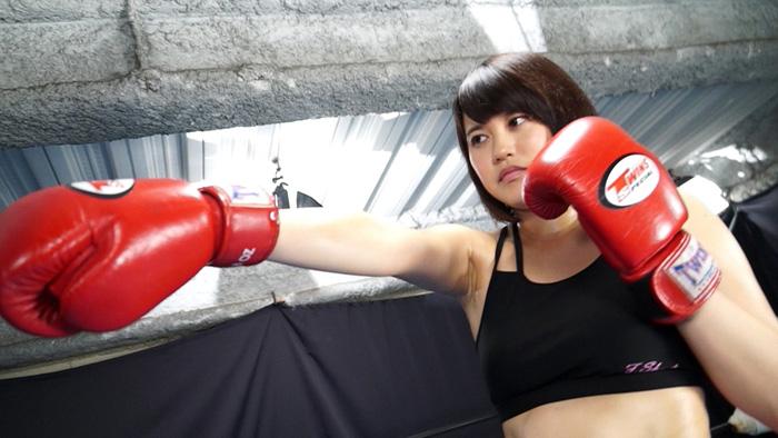 GODDESS~女神 キックボクサーゆり菜すずが煩悩寺に挑戦! サンプル画像09