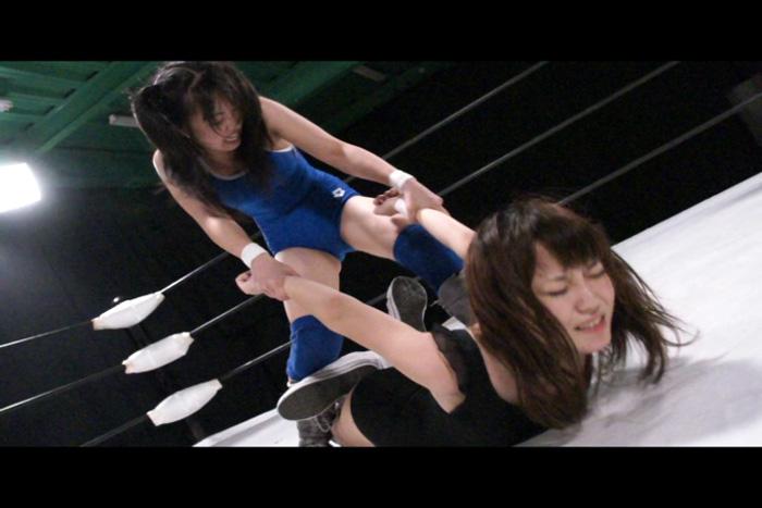 ファイティングガールズ2 キャットファイト 栗木まりさVS七瀬美菜 サンプル画像01