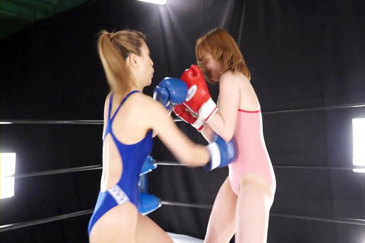 ファイティングガールズ ボクシングドリームマッチ 安藤あいか VS 新山ひかる サンプル画像03