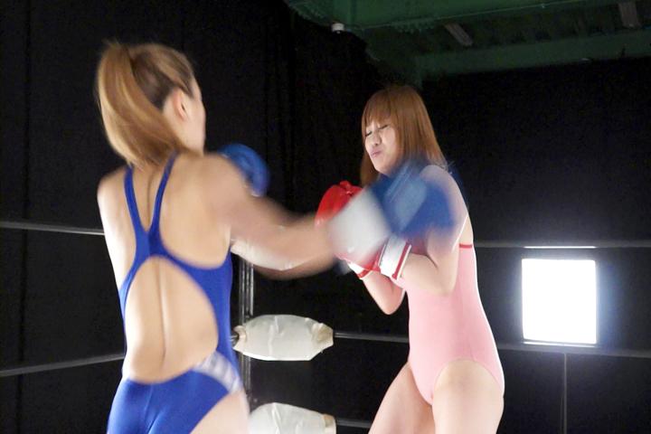 ファイティングガールズ ボクシングドリームマッチ 安藤あいか VS 新山ひかる サンプル画像05