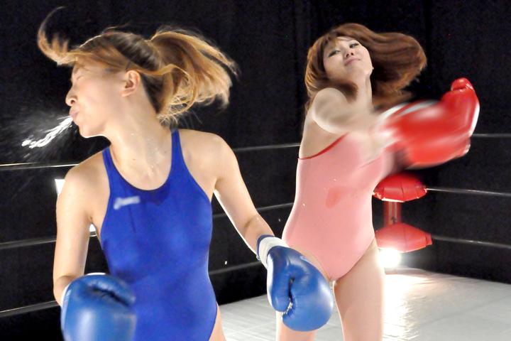 ファイティングガールズ ボクシングドリームマッチ 安藤あいか VS 新山ひかる サンプル画像01