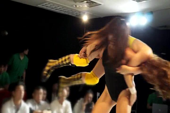 【HD】ファイティングガールズ in 大阪 2013.10.12【前半】 サンプル画像10