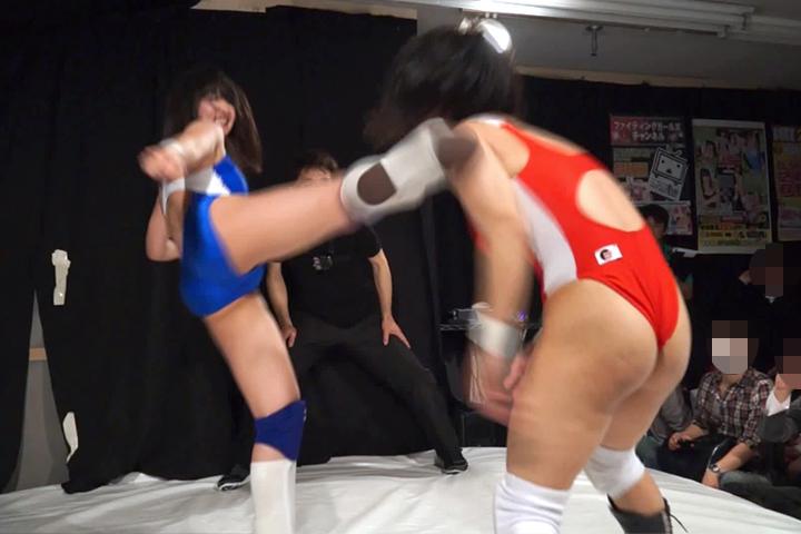 【HD】Fighting Girls Volume.10 2014.4.19 原点回帰 FightingGirls チャンピオンタイトルマッチ2014【後半】 サンプル画像09