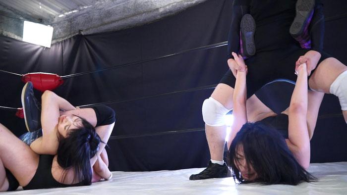 ファイティングガールズ14 開催記念MIXタッグマッチ 夏目エレナ 篠宮桜良 サンプル画像06