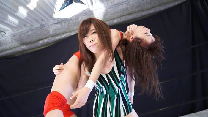 ファイティングガールズ15 キャットファイト&イメージ 真山七瀬vs新倉このみ サンプル画像09