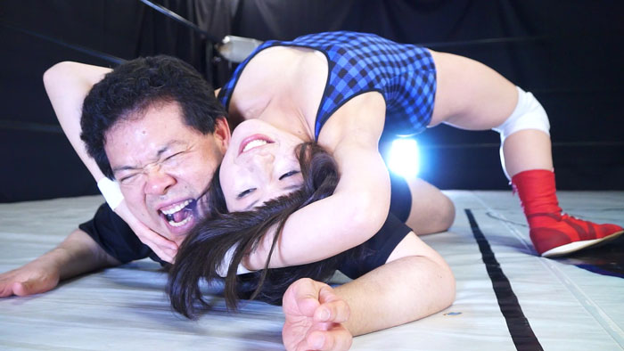 Mixed ProWrestling 椎名ゆうき選手に挑戦!! サンプル画像01