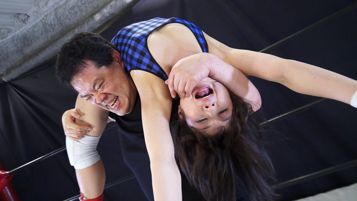 Mixed ProWrestling 椎名ゆうき選手に挑戦!! サンプル画像04
