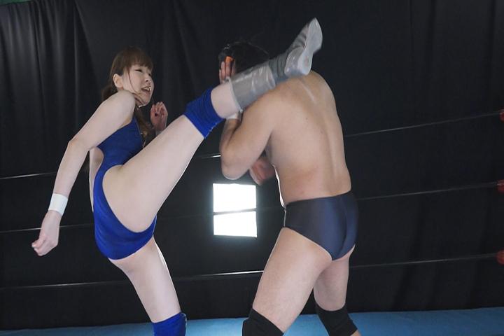 悪役レフェリー男子びいきプロレス Vol.3 サンプル画像02
