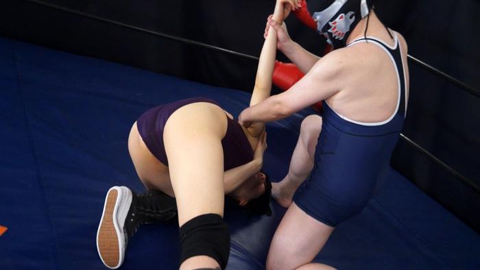 長身女子レスラー完全降伏マッチ Vol.2 サンプル画像07