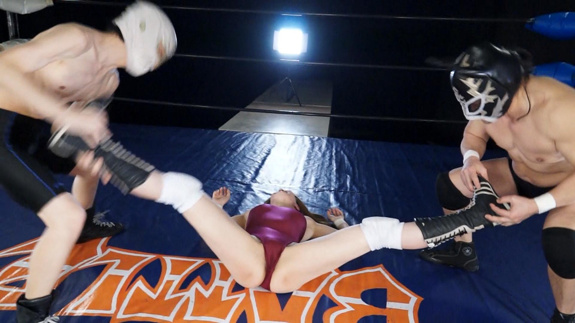 【新特別価格】陵辱ハンディキャップマッチ Volume.3 サンプル画像05