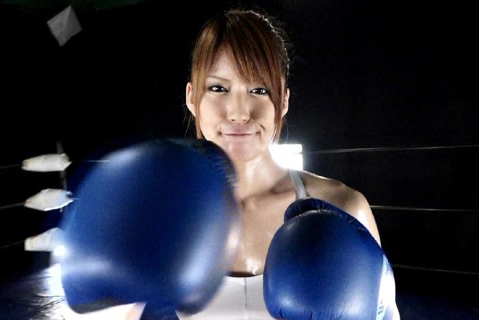 女子ボクサーとサンドバックプレイ7 サンプル画像01