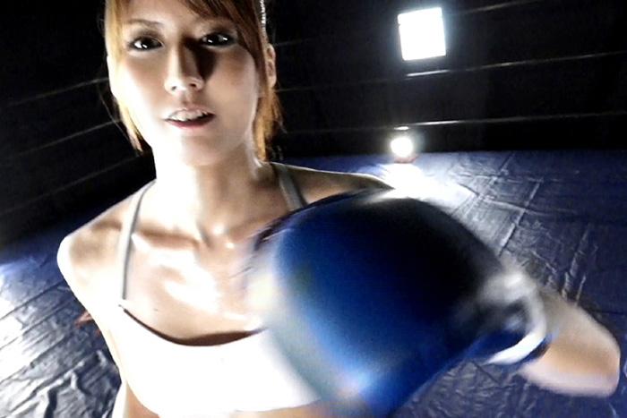 女子ボクサーとサンドバックプレイ7 サンプル画像02