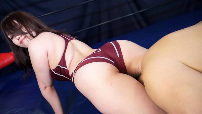 女子レスラー全裸屈辱MIX 7 - 引き裂かれたリングコスチューム - サンプル画像05
