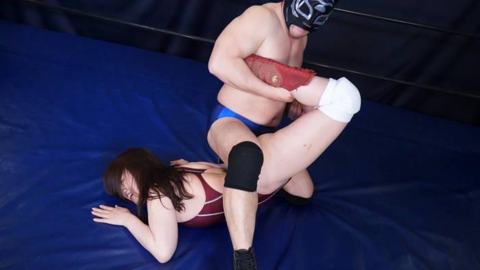 女子レスラー全裸屈辱MIX 7 - 引き裂かれたリングコスチューム - サンプル画像01