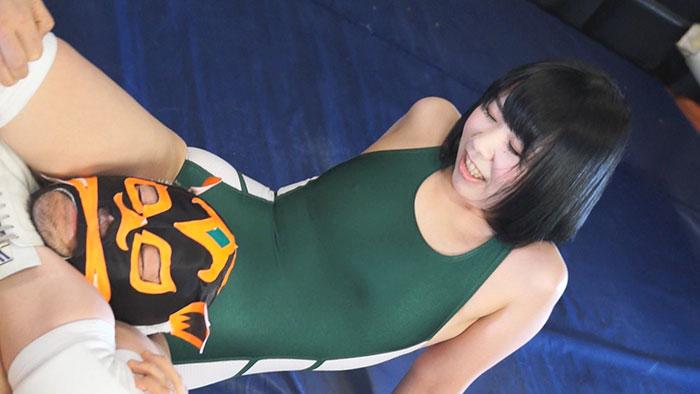 女子レスラー全裸屈辱MIX 8 - 引き裂かれたリングコスチューム - サンプル画像04