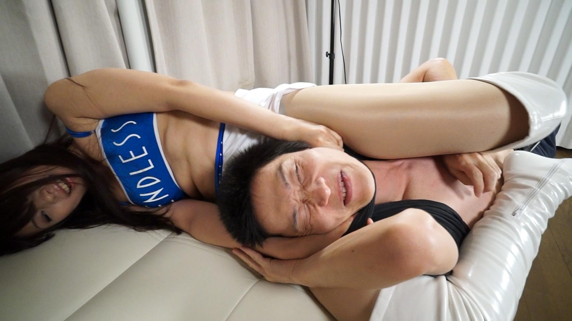 【HD】181cm超越高身長女の理不尽男制裁粛清ドミ サンプル画像08
