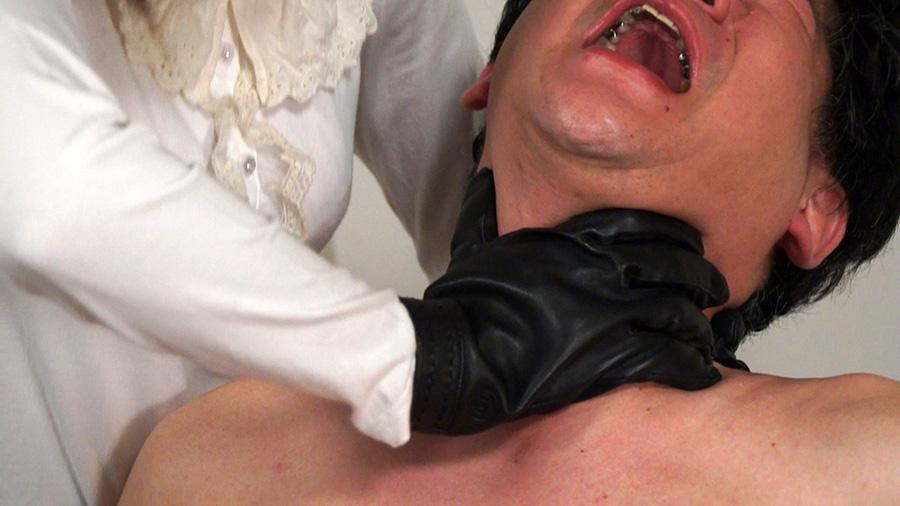 【HD】黒革手袋の怨女 復讐の首絞め淫辱制裁4 サンプル画像04