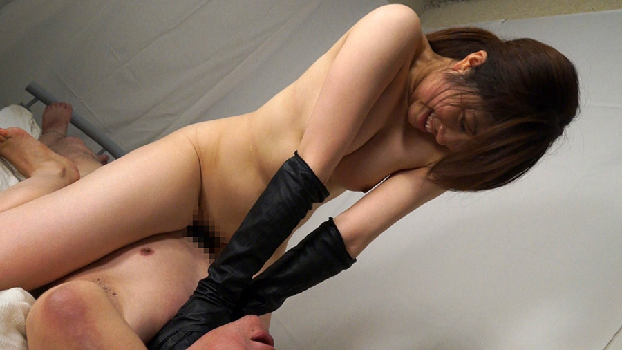 【HD】黒革手袋の怨女 復讐の首絞め淫辱制裁4 サンプル画像12