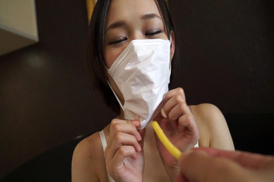 マスクdeデート  マスク大好き美人まことさんと東京デート サンプル画像05