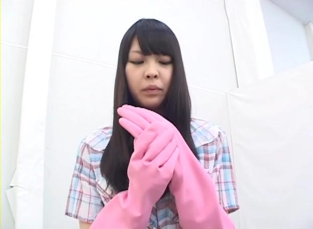 【新特別価格】ロングゴム手袋カルテット ~ゴム手袋で抜いてあげる~ 2 サンプル画像04