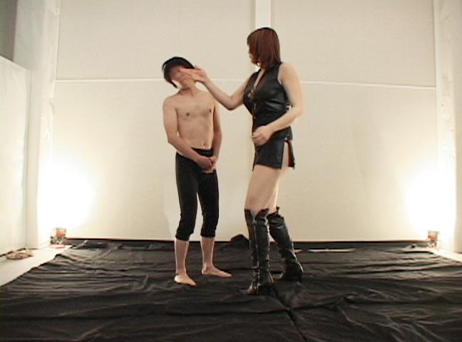 高身長ギャルM男暴力強制FUCK!! 2 サンプル画像01