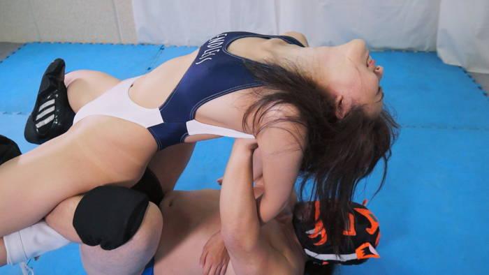 プロレス 完全敗北 リョナ 横山夏希 つり天井