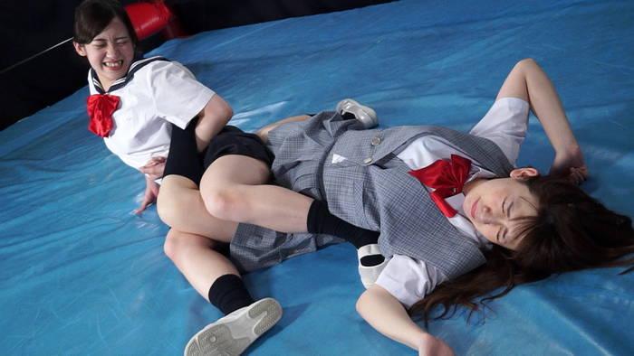女子プロレス ひな ひなの 女子校生