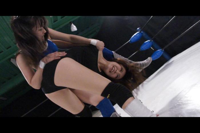 キャットファイト 女子プロレス 栗木まりさvs七瀬美菜 投げ技