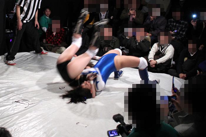 女子プロレス ファイティングガールズ 中居ちはる 後藤リサ
