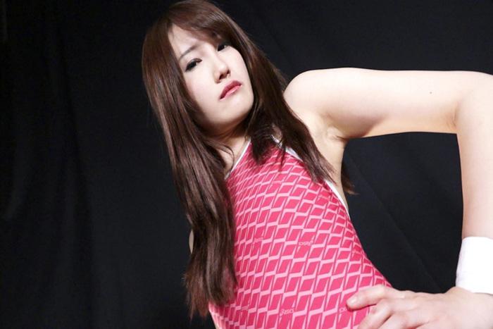キャットファイト 女子プロレス  中川希 イメージ セクシー水着