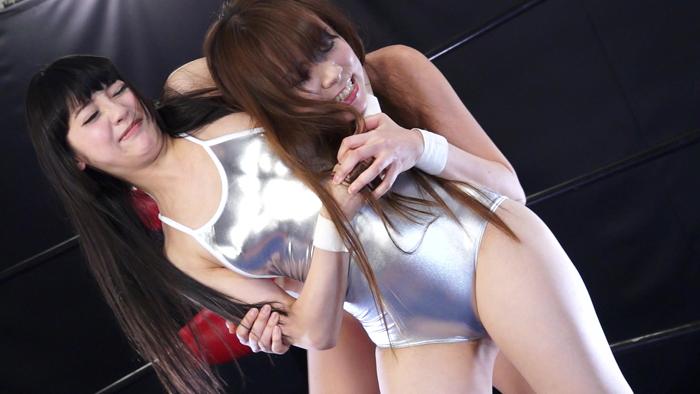 キャットファイト 女子プロレス  みづなれい イメージ 超美形