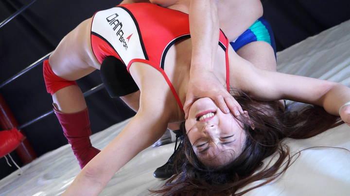 キャットファイト 女子プロレス 蓮美かな 男対決