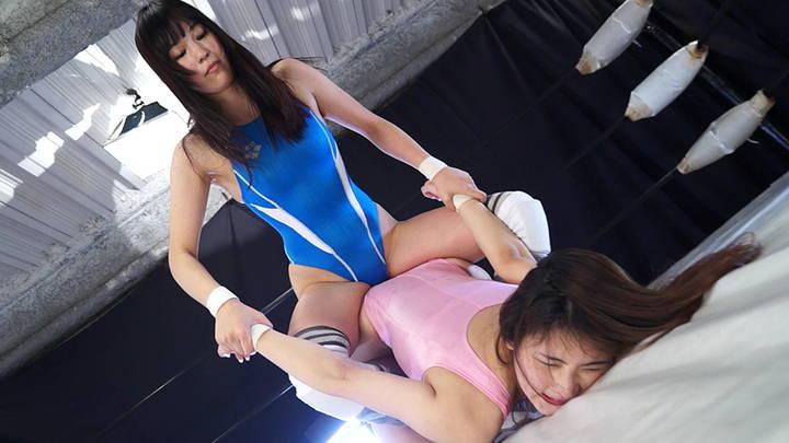 キャットファイト 女子プロレス  夏目雅子 蓮美かな