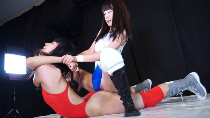 ファイティングガールズ 女子プロレス タイトルマッチ YUE(旧名:夏目エレナ)vs新垣ひとみ