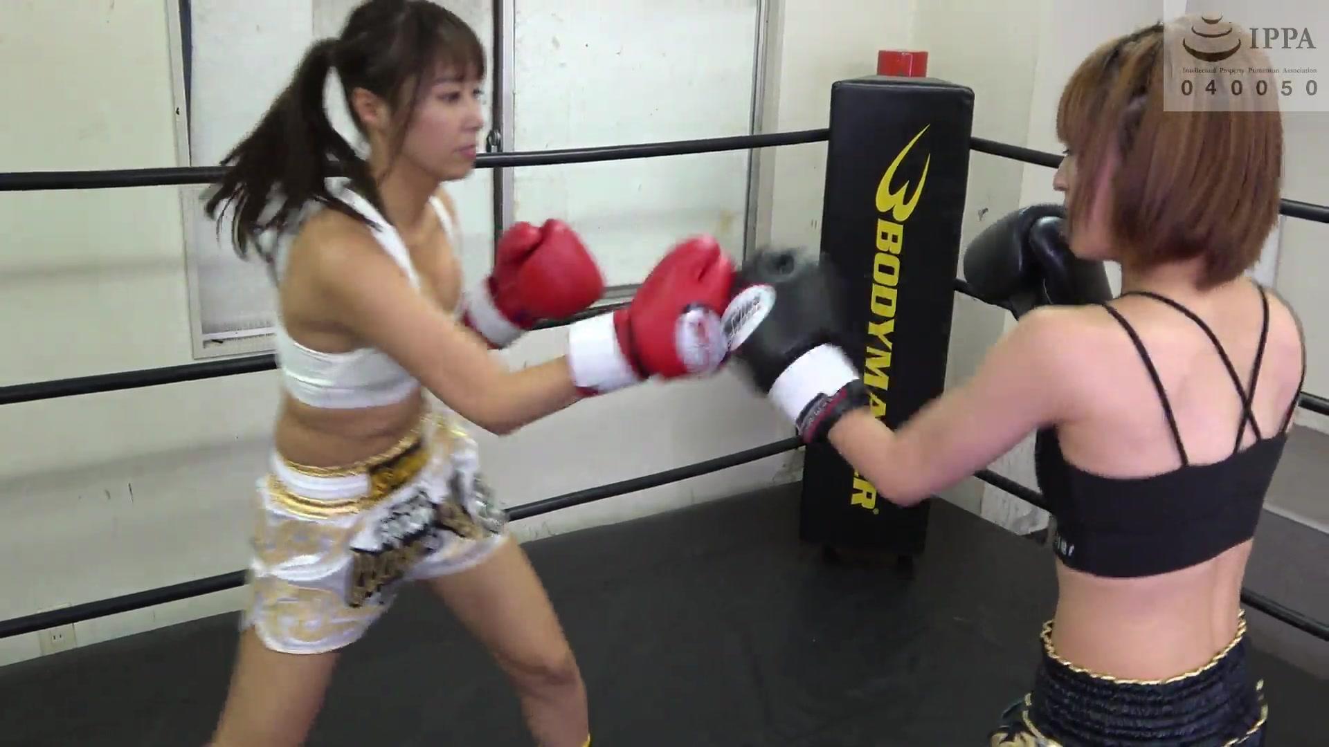 女子キックボクシング 愛里るい  佐久間恵美   美女