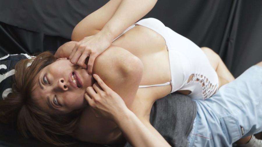 女子プロレス キャットファイト 男対決 優木なお 川崎亜里沙