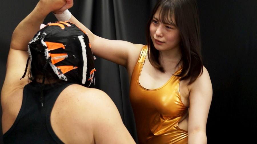 女子プロレス 巨乳 下着