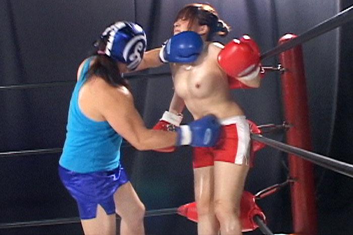 女子ボクシング トランクス 桃原ゆきな