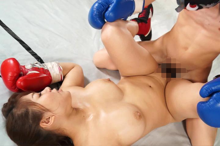 Mixed boxing japanese lose scene